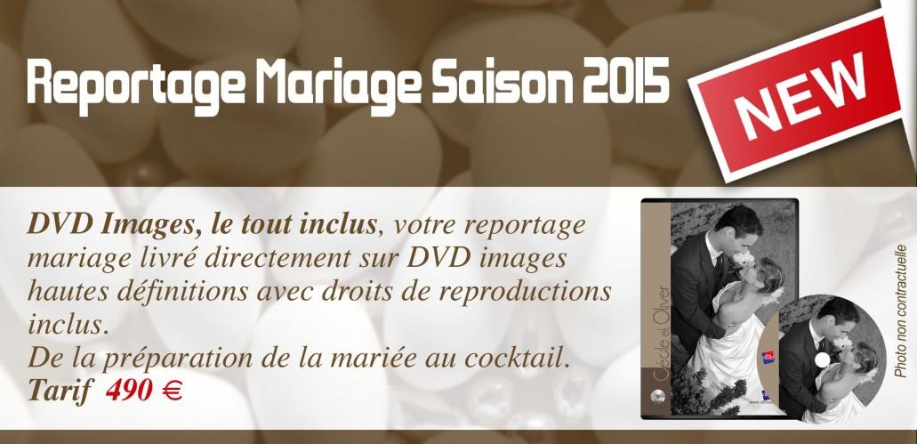 DVD Mariage 2015