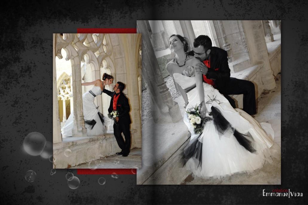 Mariage gothique Lyon